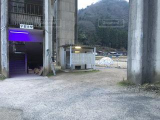 JR西日本 三江線 宇都井駅のトイレ。の写真・画像素材[975592]