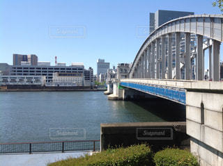 勝鬨橋と隅田川の写真・画像素材[980594]