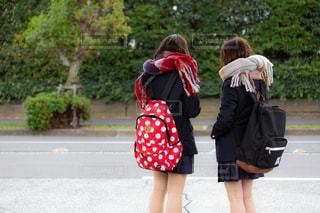 2人の女子高校生の写真・画像素材[1624625]