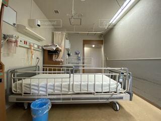 病院の病室の写真・画像素材[4784454]