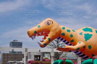 恐竜の風船の写真・画像素材[978162]