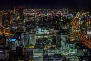 夜の街の写真・画像素材[992759]