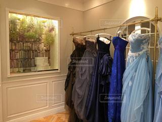 憧れのドレスの写真・画像素材[978039]