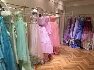憧れのドレスの写真・画像素材[978046]