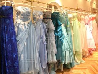 憧れのドレスの写真・画像素材[978048]