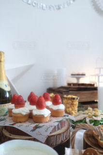 Candle cakeの写真・画像素材[1674851]