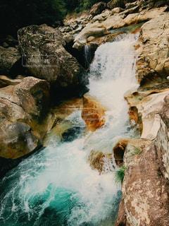 渓谷の癒しの写真・画像素材[981689]
