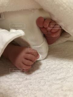 赤ちゃんの足の写真・画像素材[981962]