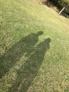 二人の影の写真・画像素材[979928]