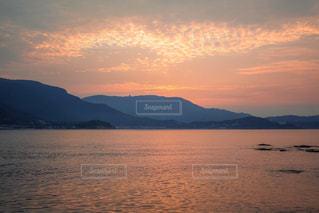 小豆島の夜明けの写真・画像素材[996130]