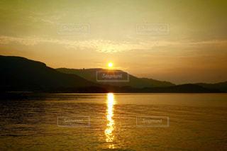 夜明けの小豆島の写真・画像素材[996133]
