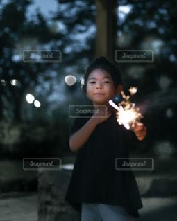 夏の夜の写真・画像素材[3376792]