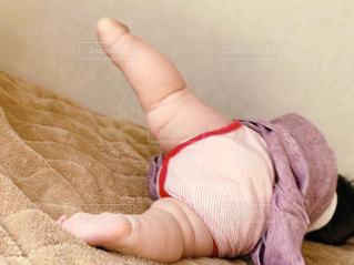 太すぎる足の赤ちゃん♥の写真・画像素材[983610]