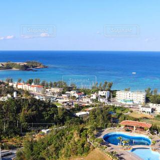 海と空が綺麗な沖縄 - No.982527