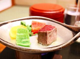 和牛のステーキの写真・画像素材[1007068]