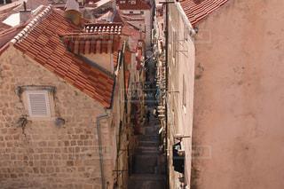 ドブロブニク旧市街の細道の写真・画像素材[982753]