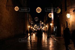 クリスマス前のドブロブニクの写真・画像素材[982768]