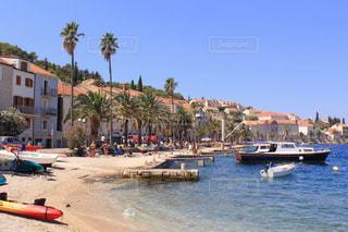 真夏のアドリア海の写真・画像素材[982809]
