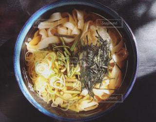 山菜うどんの写真・画像素材[987159]