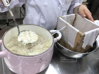 お豆腐作ってます!の写真・画像素材[983379]