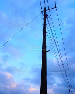 夕方の空の写真・画像素材[983989]