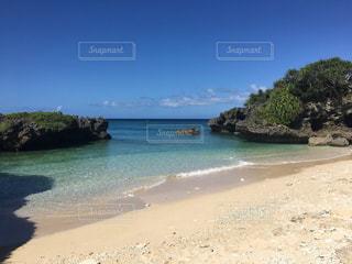砂浜のビーチの写真・画像素材[984218]