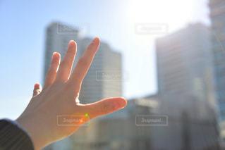 伸ばした手の写真・画像素材[985649]