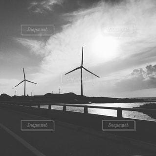 風車群の写真・画像素材[987896]