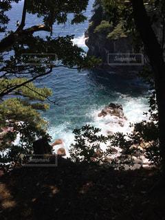 山から望む飛沫の写真・画像素材[985377]