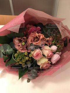 ピンクの花束の写真・画像素材[986653]