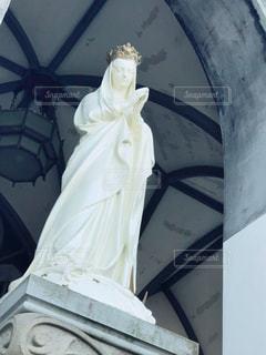 大浦天主堂のマリア像の写真・画像素材[988071]