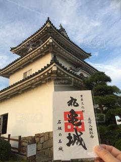 丸亀城に行ってきましたの写真・画像素材[2728552]