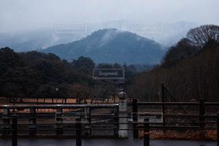 山と橋の写真・画像素材[988779]