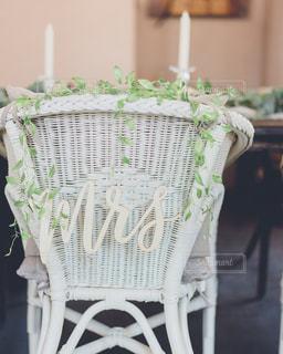 花嫁の椅子の写真・画像素材[1870563]