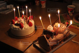 クリスマスケーキの写真・画像素材[989117]