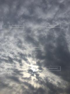空の雲の写真・画像素材[1010123]