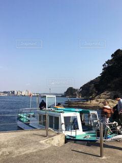 江ノ島の船着場の写真・画像素材[1023349]