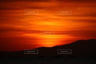 世界三大夕日の写真・画像素材[1042195]