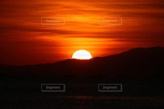 世界三大夕日の写真・画像素材[1042197]