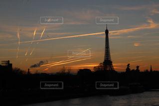 夕暮れのパリの写真・画像素材[1807575]