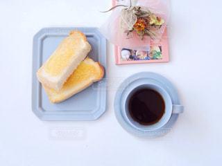 トーストとコーヒー2の写真・画像素材[1232549]