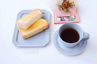 トーストとコーヒー1の写真・画像素材[1232550]