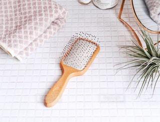 洗面所×ヘアブラシの写真・画像素材[2270731]