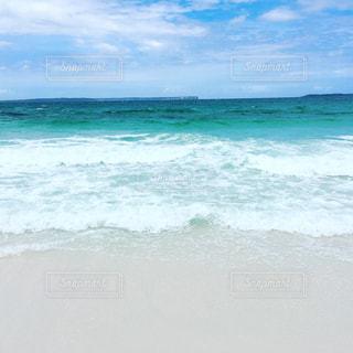 世界1白い砂浜の写真・画像素材[990227]