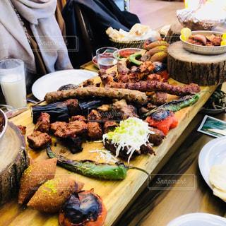 トルコ料理〜ケバブの盛り合わせ〜の写真・画像素材[990643]
