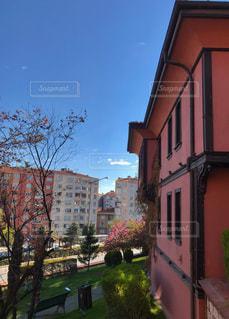 トルコ エスキシェヒルのホテルからの景色の写真・画像素材[1141096]