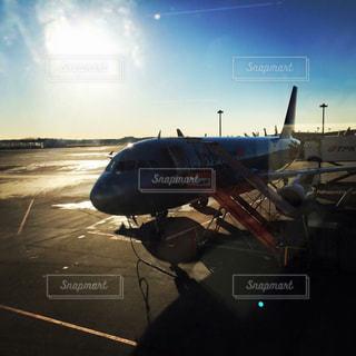 駐機場の飛行機の写真・画像素材[991413]