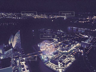 横浜の夜景の写真・画像素材[991432]