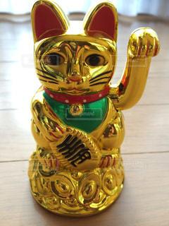 招き猫の置物♪の写真・画像素材[1150585]
