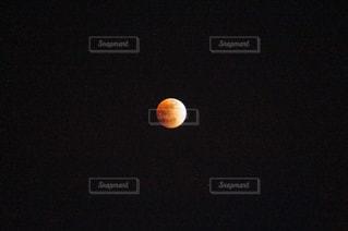 皆既月食の写真・画像素材[991734]
